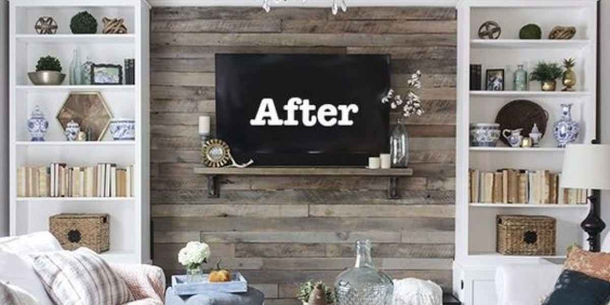 4 stunning diy pallet wall ideas for your home drake. Black Bedroom Furniture Sets. Home Design Ideas